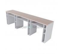 Маникюрный стол на 3 мастера серия «Комби» К-3