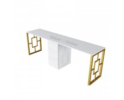 Маникюрный стол на 2 мастера серия «GOLD» G-4.3
