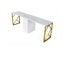 Маникюрный стол на два Мастера серия «GOLD» G-4.2