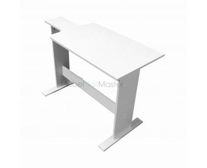 Маникюрный стол к креслу реклайнер для работы в 4 руки, высота 70 см - MR - 107.1