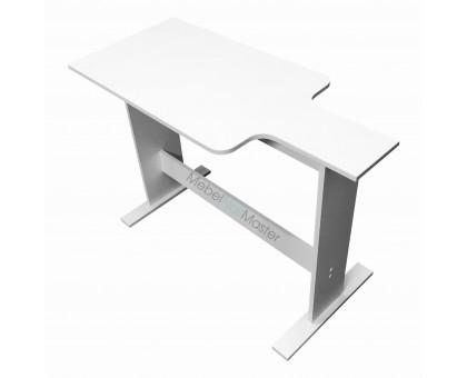 Маникюрный стол к креслу реклайнер для работы в 4 руки, высота 85 см - MR - 107.2