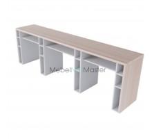 Маникюрный стол на 3 мастера серия «Комби+» К-3.1