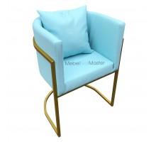 Кресло клиента на металлокаркасе KR-100