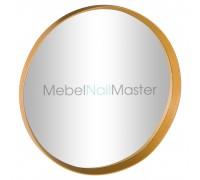 Круглое зеркало GOLD ZR -201