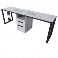 Маникюрный стол на 2 мастера серия «Loft - Nail» LN-8