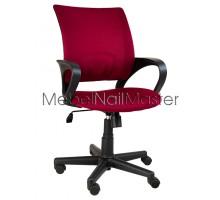 Кресло клиентов KR-102 красное.