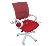 Кресло клиентов KR-102.1 красное