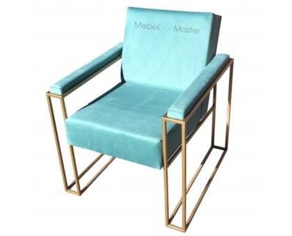 Кресло на металлокаркасе с подлокотниками PKR- 102