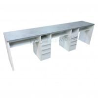 Маникюрный стол на 3 мастера серия «Комби» MS - 302.1