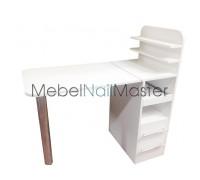 """Маникюрный стол для одного мастера складной серия """"Проф"""" MS-105"""