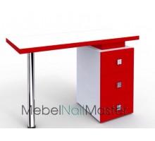 """Маникюрный стол для одного мастера серия """"Проф"""" MS-106"""